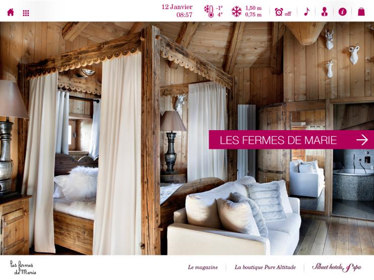 Homepage les fermes de Marie