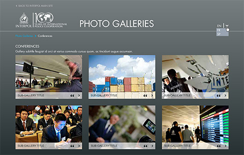 Galerie photos Interpol