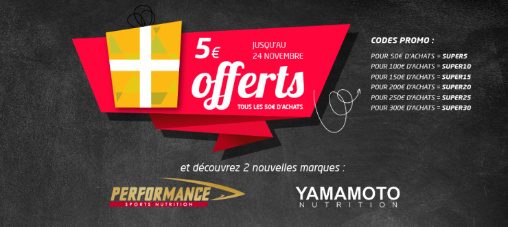 Bannière Proteines Center promo